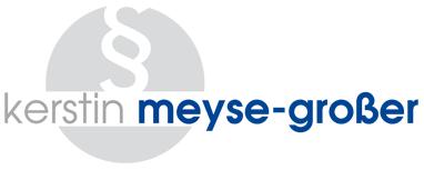Anwaltskanzlei Meyse-Großer Logo